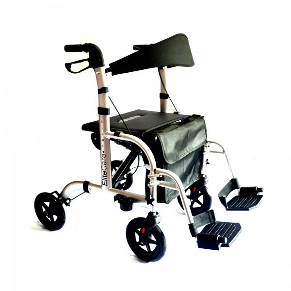 Hybrid 2 in 1 Rollator / Transport chair  sc 1 st  The Mobility Shop Ireland & Rollator/Chair