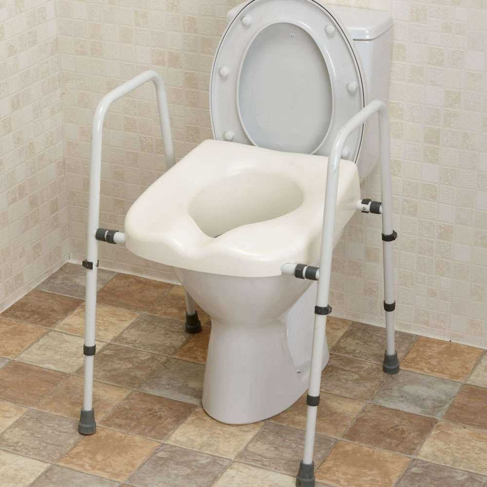 Stackable Toilet Frame From Mowbray