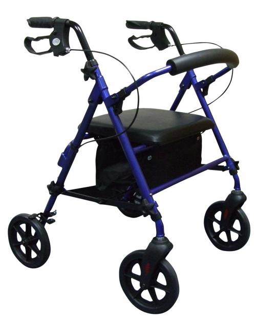 Small Light Rollator in Blue