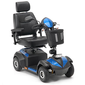 Blue Envoy Scooter