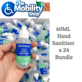 Bulk Hand Sanitiser Gel - 60ml x 24