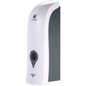 White hand sanitiser dispenser