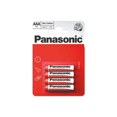 Panasonic Zinc Carbon 4 x AAA Battery Pack