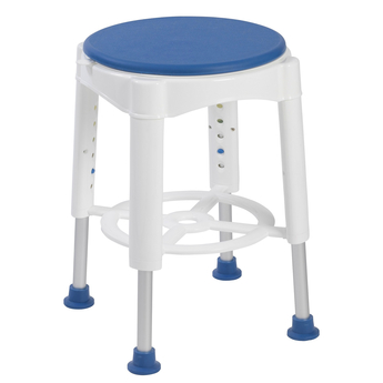 Shower Stool with Tray