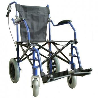 Heavy Duty Wheelchair with Travel Bag