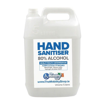 Irish Hand Sanitiser 5L