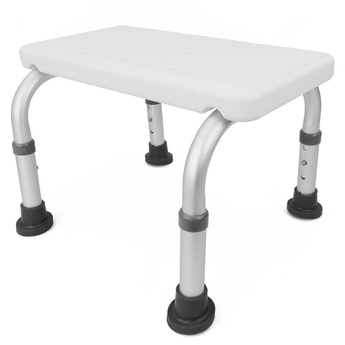 Low Shower Stool with adjustable height