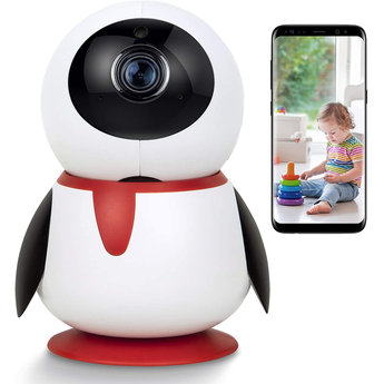 WiFi Panoramic IP Camera - Nanny Cam