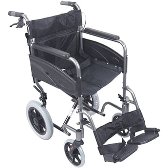 Transport WheelChair in Black