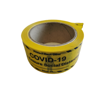 Covid floor tape