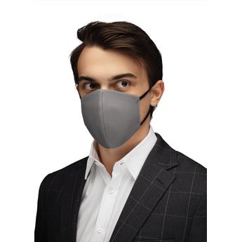 Reusable Cotton Face Mask - Silver