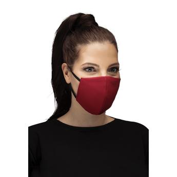 Reusable Cotton Face Mask - RedReusable Cotton Face Mask - Red