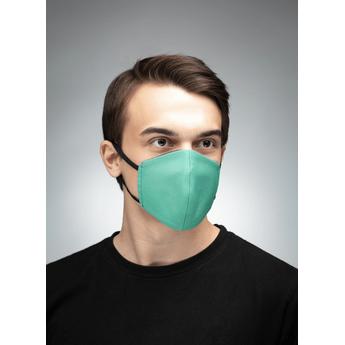 Reusable Cotton Face Mask - Green