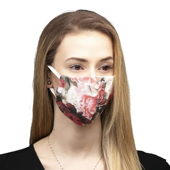 Summer Roses Reusable Face Mask