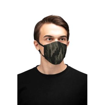 Reusable Cotton Face Mask - Military Design