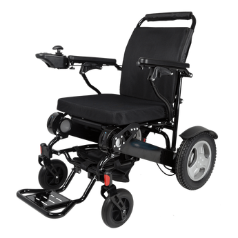 D09 Electric Power Wheelchair side view