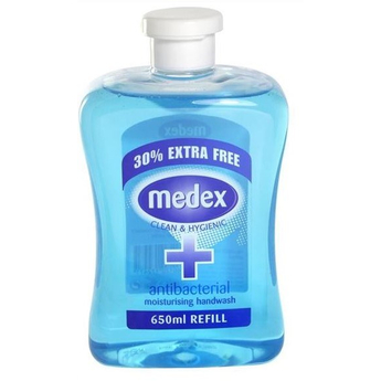Medex Antibacterial Handwash 650ml Fill Cap