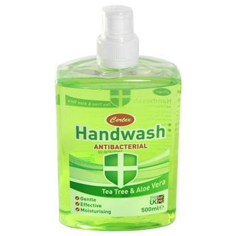 Certex Tea Tree & Aloe Vera Antibacterial Handwash 500ML Fill Cap