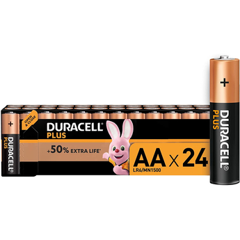 Duracell Plus 24 x AA Battery Pack