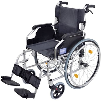 Silver Wheelchair