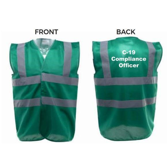 Compliance Officer Vest 2m Dark Green