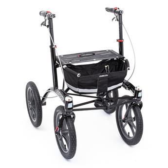 Trionic Outdoor - Indoor Rollator 14er - BlackTrionic Outdoor - Indoor Rollator 14er - Black