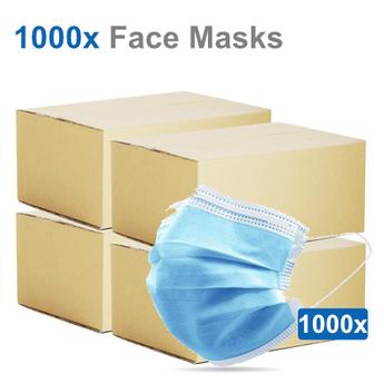 1000 Pack - Surgical Medical Masks - BFE 99%