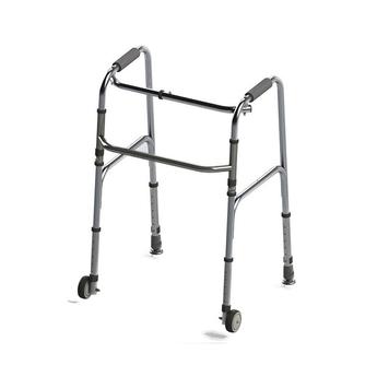 Two-Wheeled Foldable Aluminum Walker