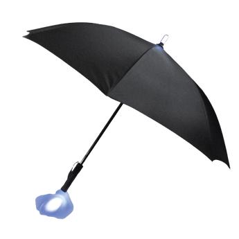 Pluvis Illuminated Umbrella - Black Canopy