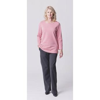 Pink & Cream Breton Stripe Tunic