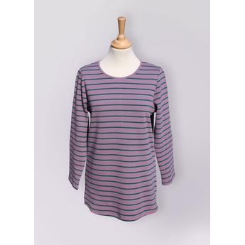 Violet & Green Breton Stripe Tunic