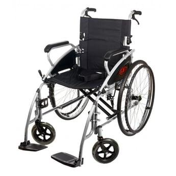 White Self Propelled Wheelchair