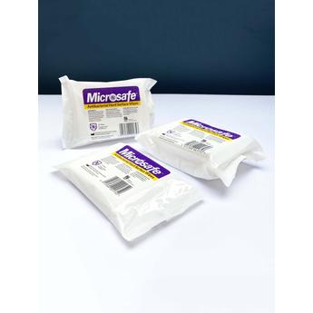 Microsafe ANTI-BACTERIAL Surface Wipes, 25pk PCS