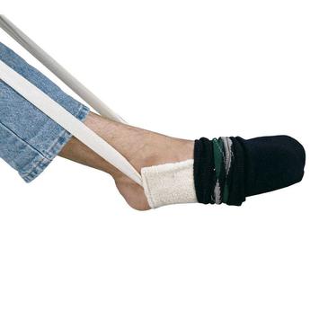 Terry Cloth Sock Aid