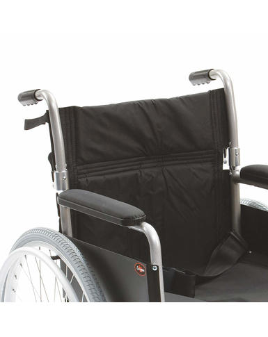 Lightweight 18'' Self Propelled Wheelchair  arm rests
