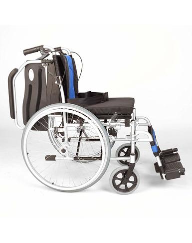 Self Propel Aluminium Wheelchair Arms up View