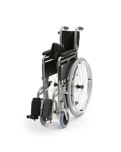 Lightweight 18'' Self Propelled Wheelchair folded