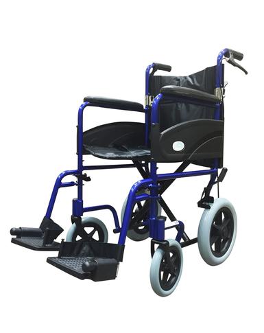 Transit Folding Wheelchair with Attendant Brakes