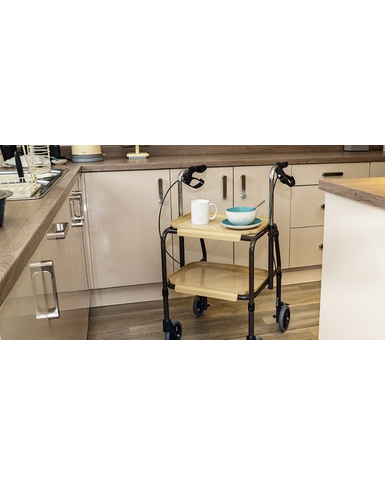 Strolley Trolley with Brakes Kitchen View