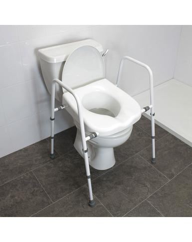 Mowbray Lite Toilet Frame (Width Adjustable)
