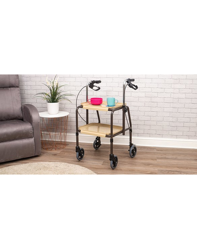 Strolley Trolley with Brakes Sitting Room view